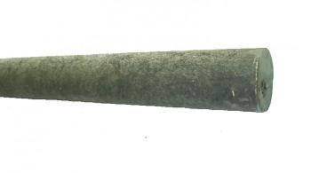Kůl průměr 65 mm, 1600 mm, šedý