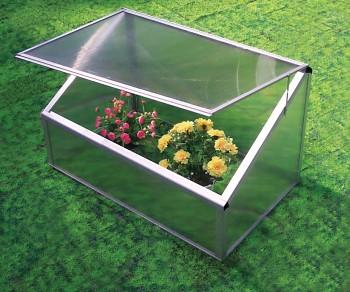 Zahradní polykarbonátové pařeniště JAN 1000x600x600 mm