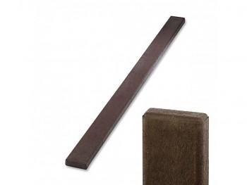 Prkno 120x40x1700 mm, lavičkové, hnědé